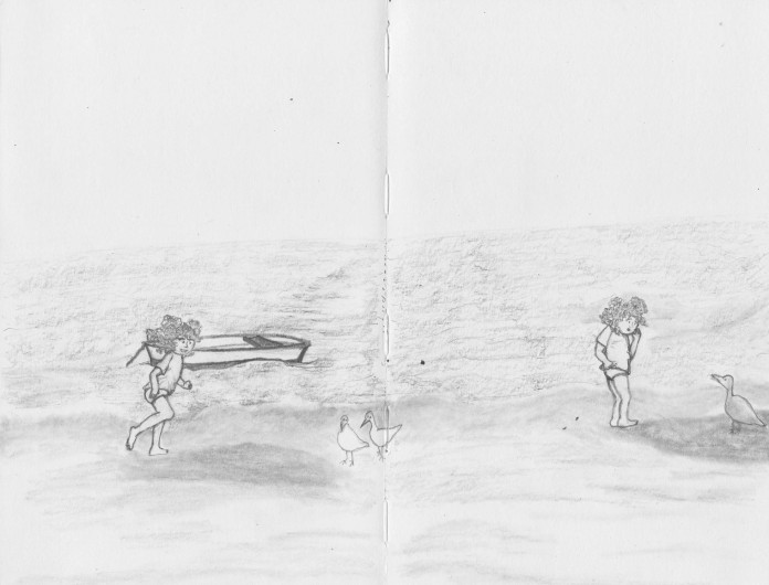 Beach birds!