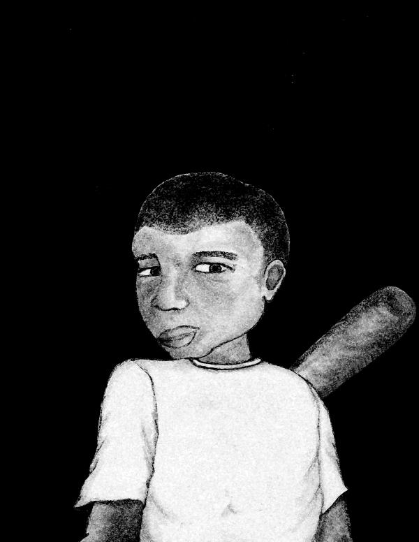A younger Juan.
